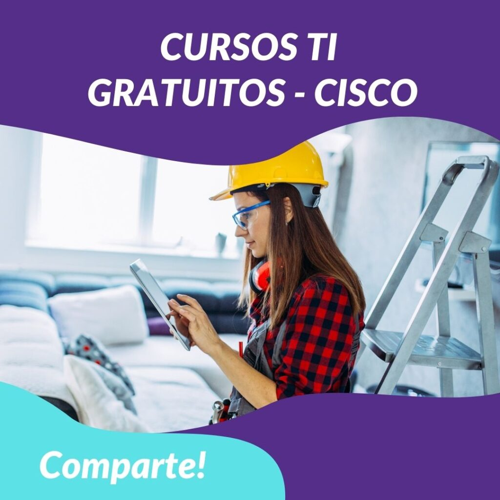 cursos ti cisco mujeres chile
