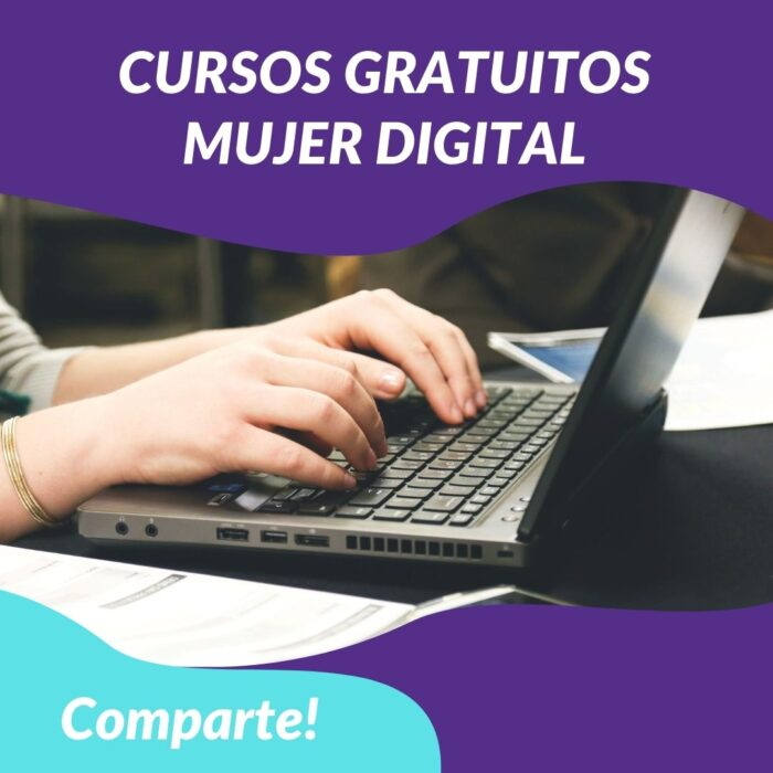 """Programa Cursos en Línea """"Mujer Digital"""" SENCE"""