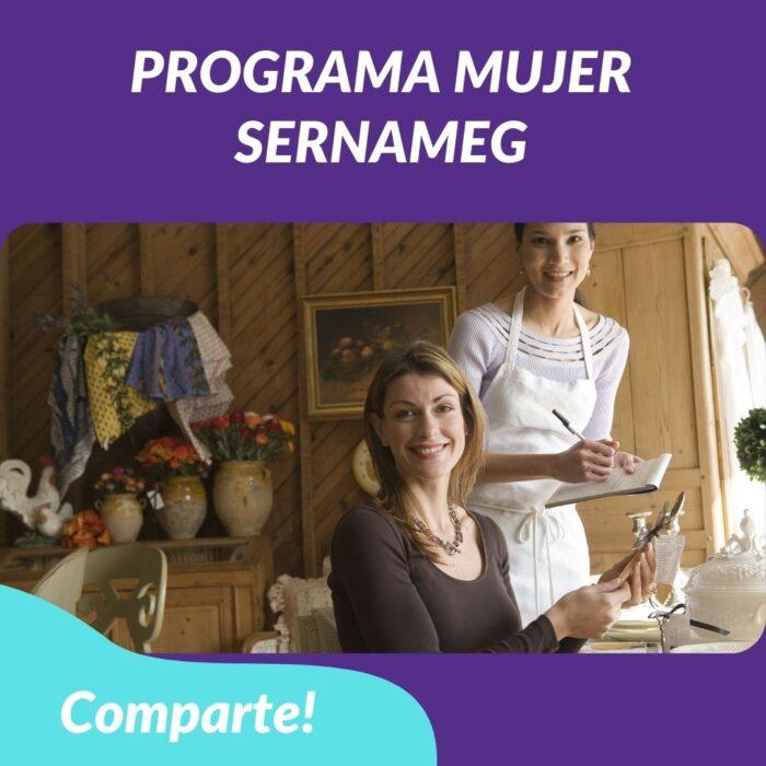 Programa Mujer Emprende – SERNAMEG